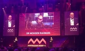 محقق ایرانی جایزه اسکار علوم استرالیا را از آن خود کرد